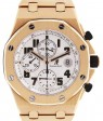 Audemars Piguet 26170OR.OO.1000OR.01 Royal Oak Offshore Chronograph 42mm Silver Arabic Rose Gold Automatic BRAND NEW