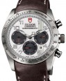 Product Image: Tudor Fastrider Chronograph 42000 White Arabic Stainless Steel & Leather 42mm - BRAND NEW