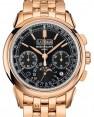 Patek Philippe Grand Complications 5270/1R-001 Black Sunburst Index Rose Gold 41mm - BRAND NEW