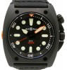 Bell & Ross BR 02 BR02-20-S Black PVD/DLC Coated Stainless Steel Fabric 44mm Automatic - PRE-OWNED