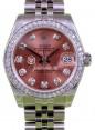 Rolex Datejust 31 Lady Midsize Stainless Steel Pink Diamond Dial & Bezel Jubilee Bracelet 178240 - BRAND NEW