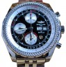 Breitling Bentley GT A13362 Black 44mm Chronograph Stainless Steel