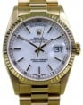 Rolex Day-Date President 18238 Yellow Gold Double Quickset