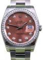 Rolex Datejust 116200 Diamond Pink Oyster 36mm BRAND NEW