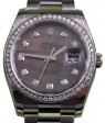 Rolex Datejust 116200 Diamond Dark Mother of Pearl Dial Bezel Oyster BRAND NEW
