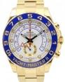 Rolex Yacht-Master II 116688 Men's 44mm 18k Yellow Gold White Ceramic BRAND NEW