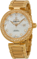 OMEGA 425.65.34.20.55.001 Ladymatic 34 mm Red Gold BRAND NEW