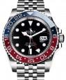 "Product Image: Rolex GMT-Master II ""Pepsi"" Steel Black Dial & Red/Blue Ceramic Bezel Jubilee Bracelet 126710BLRO - BRAND NEW"