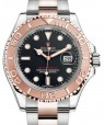 Product Image: Rolex Yacht-Master 40 Rose Gold/Stainless Steel Black Dial Oyster Bracelet 126621 - BRAND NEW