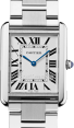 CARTIER W5200014 TANK SOLO STAINLESS STEEL BRAND NEW