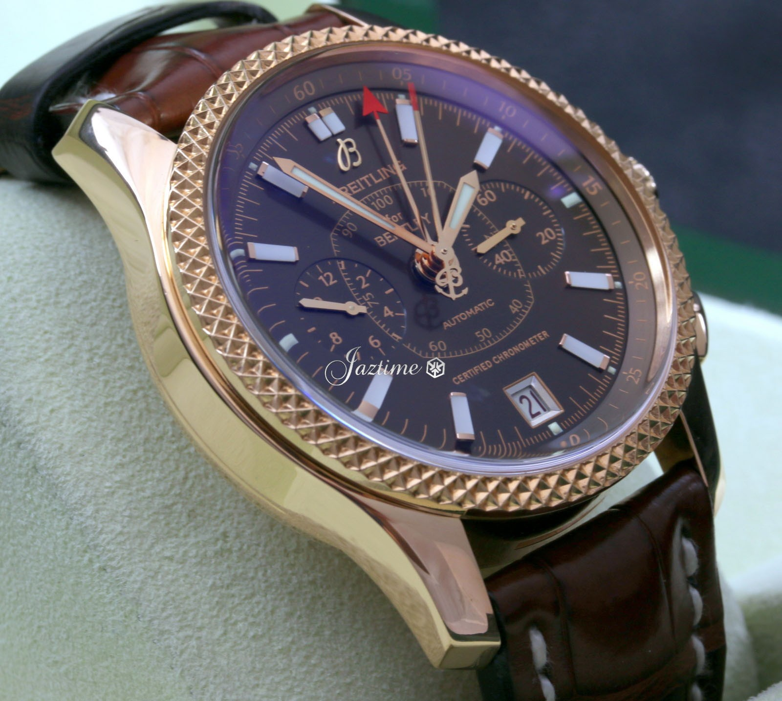 Pilot Vi Home: Breitling Bentley Mark VI H26362 18k Rose Gold 42mm