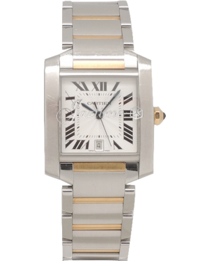 CARTIER W51005Q4 TANK FRANCAISE STAINLESS STEEL BRAND NEW