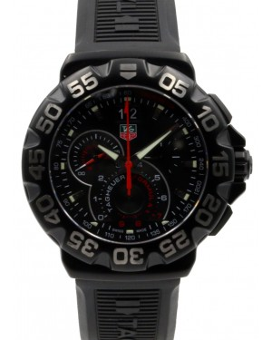 Tag Heuer Formula 1 Grande Date Men's Quartz Black Rubber 44mm CAH1012.FT6026