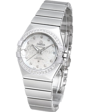 OMEGA 123.15.27.20.55.003 CONSTELLATION CO-AXIAL 27mm STEEL - BRAND NEW