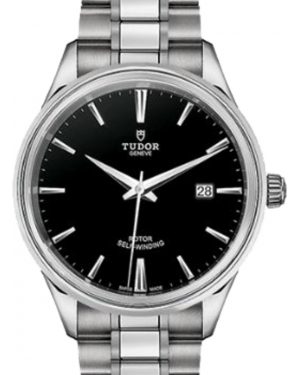 Tudor Style 12700 Black Index Stainless Steel 41mm BRAND NEW