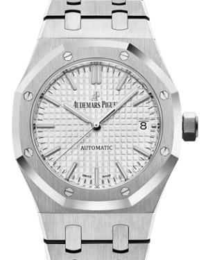 Audemars Piguet Royal Oak Selfwinding Stainless Steel White Index Dial 37mm 15450ST.OO.1256ST.01 - BRAND NEW