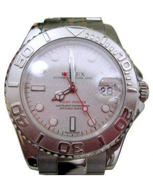 Rolex Yacht-Master 168622 Ladies Midsize 35mm Platinum Stainless Steel