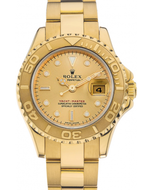 Rolex Yacht-Master 29 169628 Gold White Dial Yellow Gold Oyster - BRAND NEW
