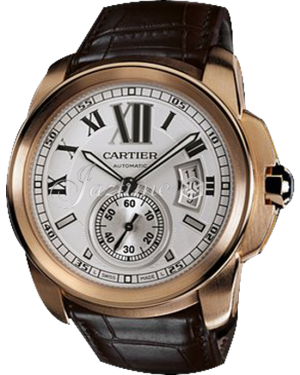 CARTIER W7100009 CALIBRE DE CARTIER 42mm 18K Pink Gold BRAND NEW