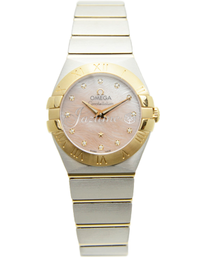 Omega 123.20.24.60.57.004 Constellation Quartz 24mm Steel And Yellow Gold BRAND NEW
