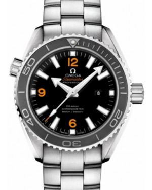 Omega 232.30.38.20.01.002 Planet Ocean 600M Co-Axial 37.5mm Black Ceramic Stainless Steel - BRAND NEW