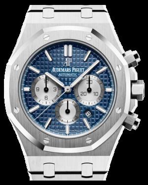 Audemars Piguet Royal Oak Chronograph Stainless Steel Blue Index 41mm Steel Bracelet 26331ST.OO.1220ST.01 - BRAND NEW