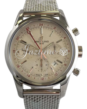 BREITLING AB045112|G772|154A TRANSOCEAN CHRONOGRAPH GMT 43mm STAINLESS STEEL BRAND NEW