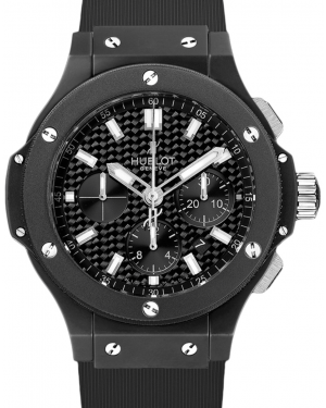 Hublot Big Bang 301.CI.1770.RX Carbon Fiber Index Black Ceramic Case & Rubber 44mm BRAND NEW