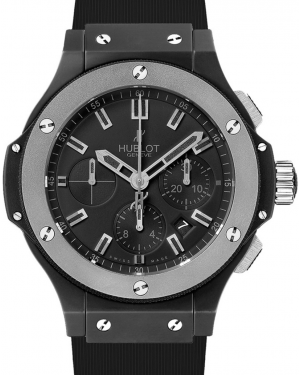 Hublot Big Bang 301.CK.1140.RX Black Index Tungsten Bezel & Black Ceramic Case Rubber 44mm BRAND NEW