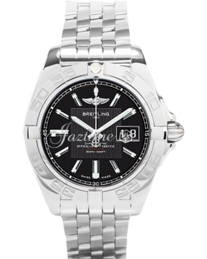 BREITLING A49350L2|BA07|366A GALACTIC 41 41mm STAINLESS STEEL BRAND NEW