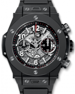 Hublot Big Bang Unico 411.CI.1170.CI Skeleton Arabic Black Ceramic Case 45mm BRAND NEW