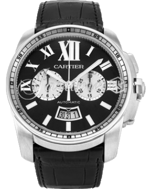 CARTIER W7100060 CALIBRE DE CARTIER CHRONOGRAPH 42mm Stainless Steel BRAND NEW