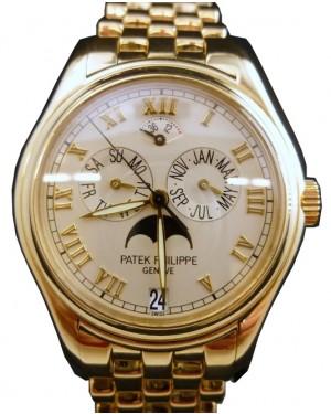 Patek Philippe 5036 J 18k Yellow Gold Annual Calendar Moonphase