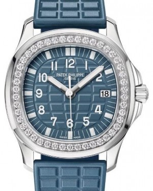Patek Philippe Aquanaut 5067A-025 Blue Arabic Diamond Bezel Stainless Steel Composite 35.6mm - BRAND NEW