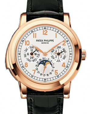 Patek Philippe 5074R-012 Grand Complications Day-Date Annual Calendar Moon Phase 42mm White Arabic Rose Gold Automatic BRAND NEW