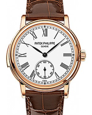 Patek Philippe 5078R-001 Grand Complications 38mm White Roman Rose Gold Leather Automatic BRAND NEW