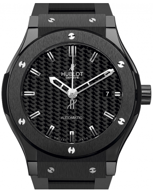 Hublot Classic Fusion 511.CM.1770.CM Carbon Fiber Index Black Ceramic 45mm BRAND NEW
