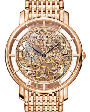 Patek Philippe Complications Skeleton Index Rose Gold Bezel & Bracelet 39mm 5180/1R-001 - BRAND NEW
