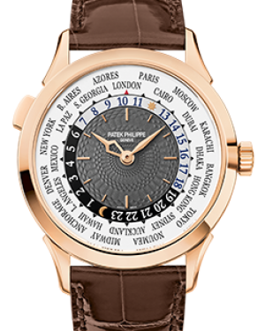 Patek Philippe 5230R-001 Complications 38.5mm Charcoal Gray Arabic Rose Gold Leather BRAND NEW