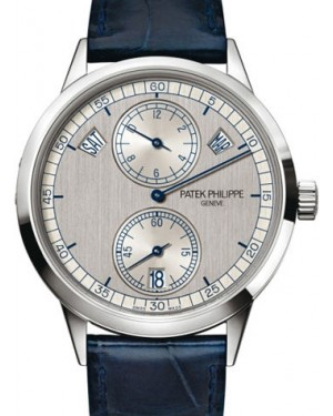 Patek Philippe Complications Annual Calendar Regulator White Gold 40.5mm Silver 5235G-001 - BRAND NEW