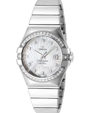 OMEGA 123.55.31.20.55.003 CONSTELLATION CO-AXIAL 31mm WHITE GOLD - BRAND NEW