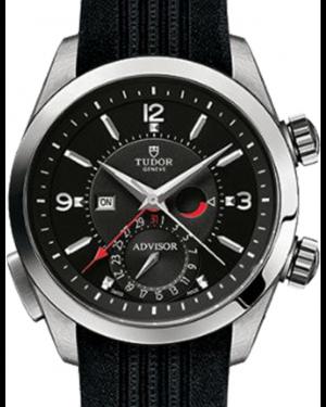 Tudor Heritage Advisor 79620TN Black Arabic & Index Titanium & Stainless Steel 42mm BRAND NEW