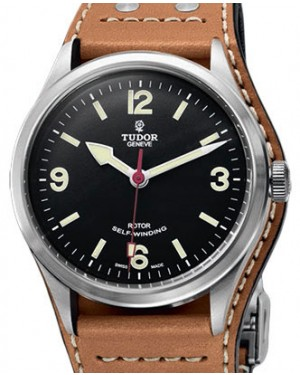 Tudor Heritage Ranger 79910-95760 Black Arabic & Index Stainless Steel 41mm BRAND NEW