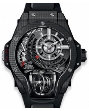 Hublot MP MP-09 Tourbillon Bi-Axis 3D Carbon 909.QD.1120.RX Skeleton Index Carbon Fiber Rubber 49mm - BRAND NEW