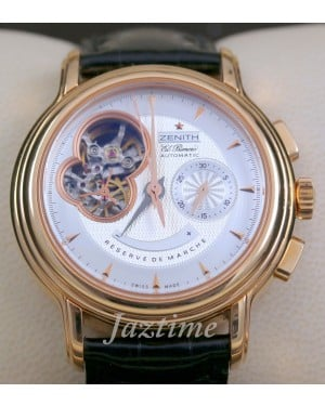 Zenith Chronomaster Open T Rose Gold Chronograph 18.0240.4021/01.C495
