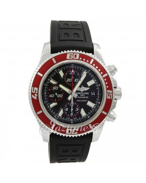 Breitling Superocean Chronograph II A13341X9/BA81  Red Abyss Rubber BRAND NEW