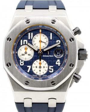 Audemars Piguet Royal Oak Offshore Chronograph Stainless Steel Navy Blue 42mm 26470ST.OO.A027CA.01