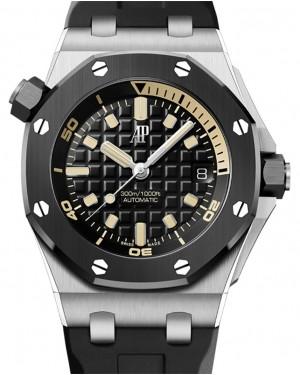 Audemars Piguet Royal Oak Offshore Diver White Gold 42mm Black Dial 15720CN.OO.A002CA.01 - BRAND NEW