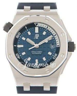 Audemars Piguet Royal Oak Offshore Selfwinding Chronograph Stainless Steel 42mm Blue Dial 15720ST.OO.A027CA.01 - BRAND NEW
