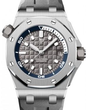 Audemars Piguet Royal Oak Offshore Selfwinding Chronograph Stainless Steel 42mm Grey Dial 15720ST.OO.A009CA.01  - BRAND NEW